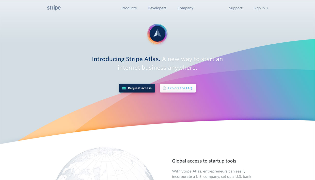 Modern colors web design - Creating A Unique Shape Or Edge Within A Webdesign Has Never Been Easier Thanks To Svg Masking In 2017 We Can Expect To See More Angled And Curved Edges