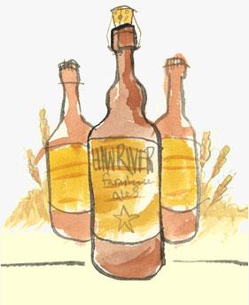 Haw River Ales Illustration