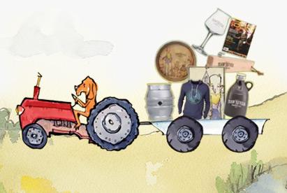Haw River Ales Kickstarter marketing