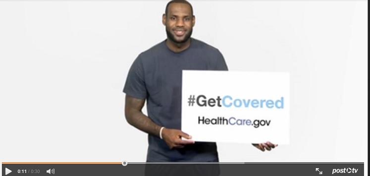 Lebron James Healthcare Ad