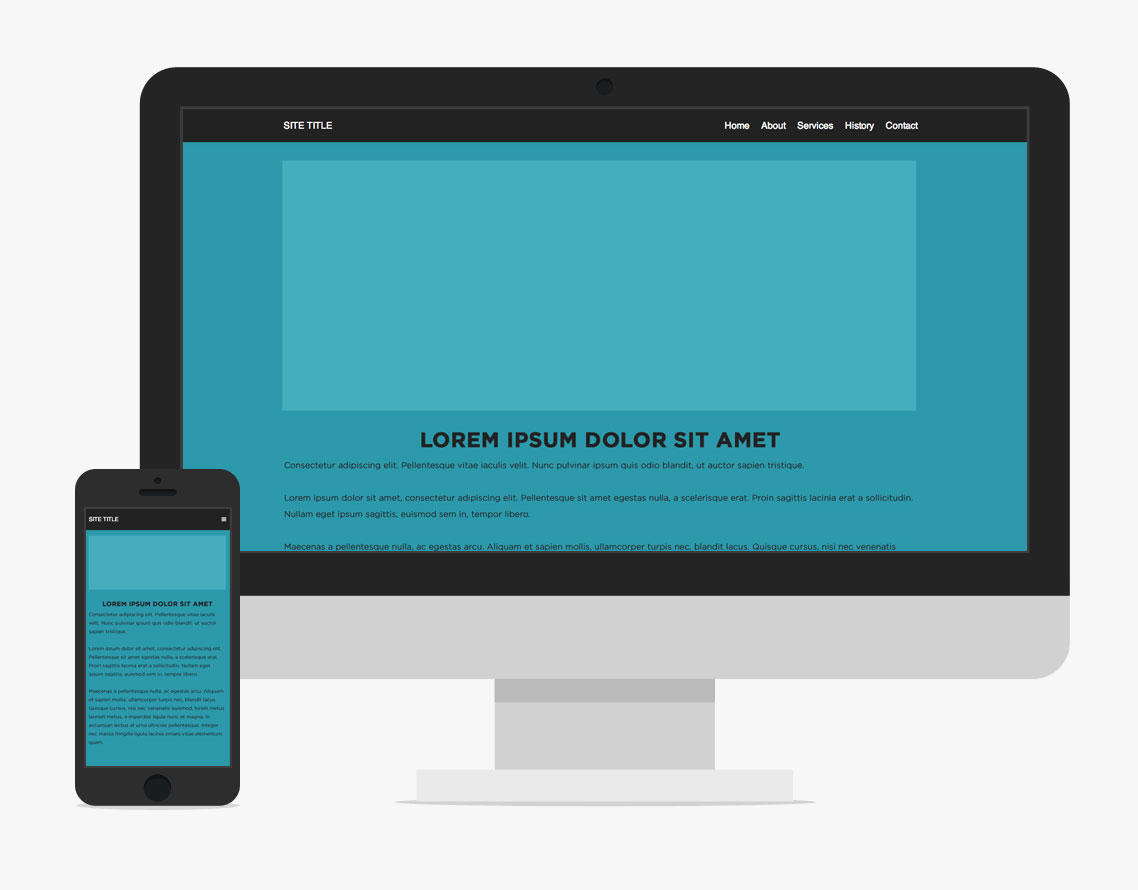 A simple pattern for responsive website navigation