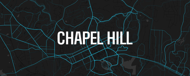Chapel Hill running map