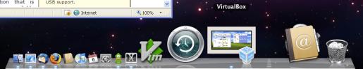 VirtualBox running Windows on OSX