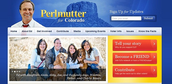 Ed Perlmutter's Congressional Campaign Website