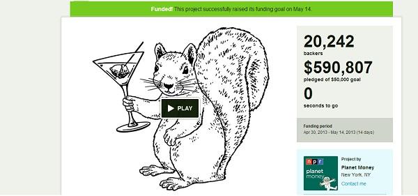 Planet Money Kickstarter